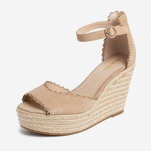 Pelle Moda Raine Platform Espadrille Sandals